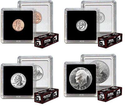 50 2x2 Snaplock Coin Holders New US Dime Size Premium Storage BCW 2 Boxes Lot