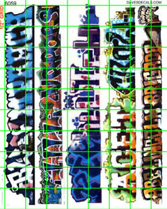 6059-DAVE-039-S-DECALS-BOXCAR-URBAN-WALL-GRAFFITI-HO-SCALE-1-87