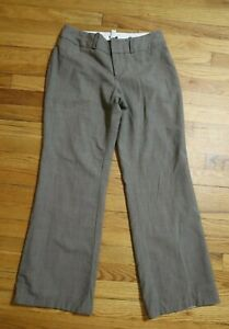 WOMEN-039-S-GRAY-GREIGE-DRESS-PANTS-BANANA-REPUBLIC-JACKSON-FIT-SIZE-6