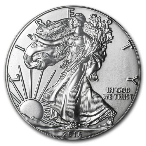S Silver American Eagle MS-69 PCGS San Francisco Mint 2016 - SKU#162450