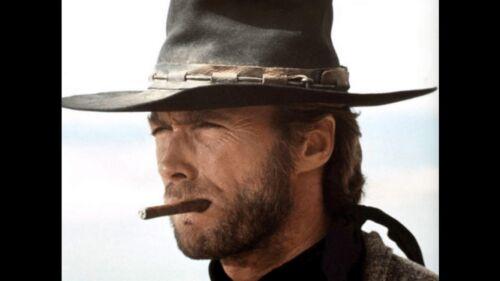 Custom Made 1//6 Scale Clint Eastwood Head Sculpt Cowboy the good