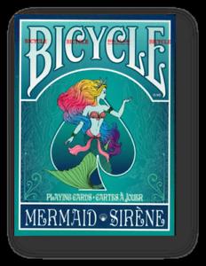 Sirena-Bicycle-Jugando-a-las-Cartas-Turquoise-Poquer-Juego-de-Cartas-Cardistry