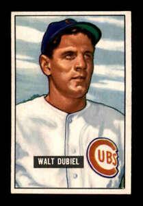 1951-Bowman-283-Walt-Dubiel-RC-EX-X1561671