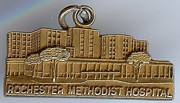 2019 Neuer Stil Vintage 10k Gold Rochester Methodist Krankenhaus Charm