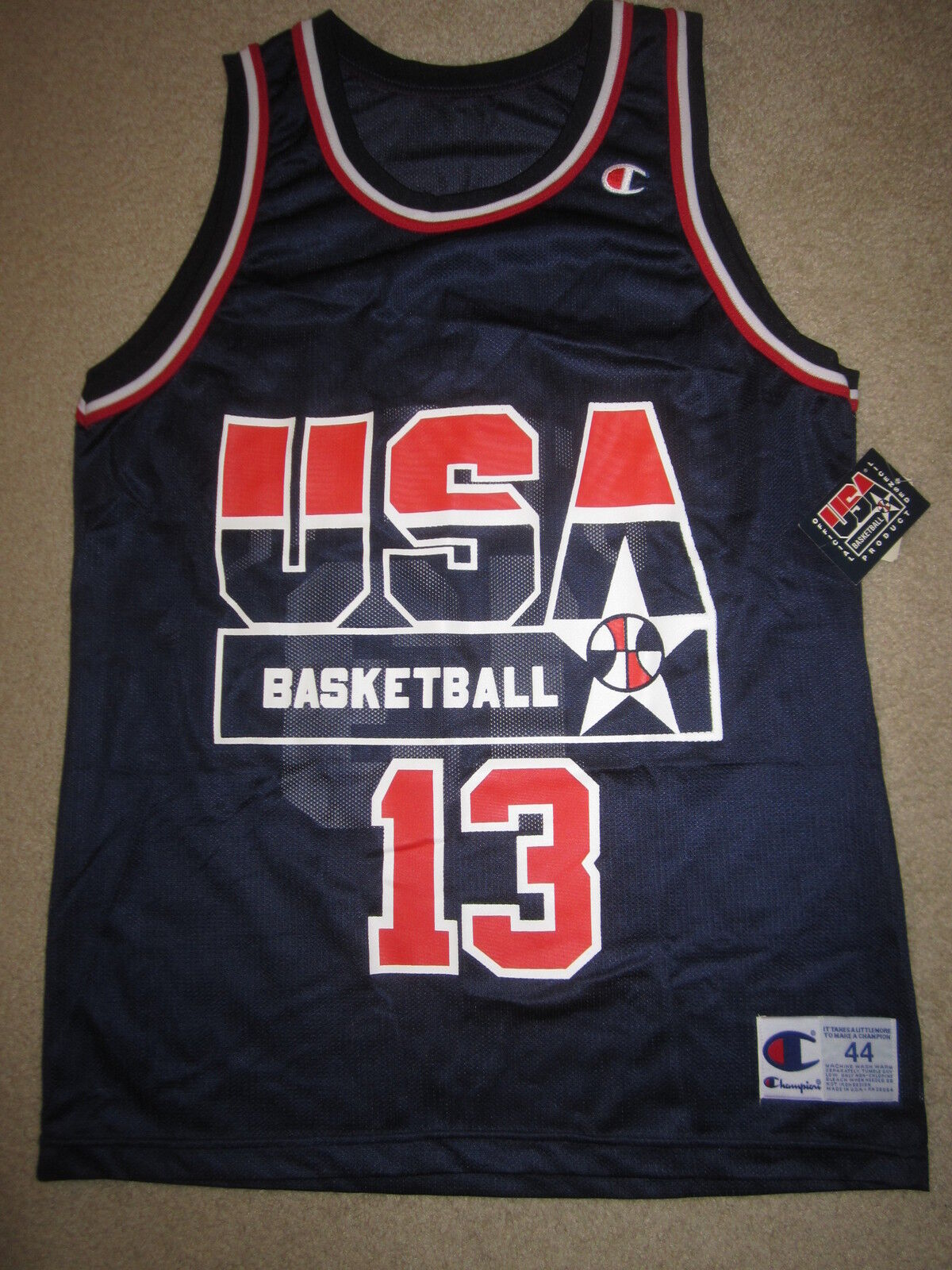 Shaq Shaquille O'Neal  14 Us Olympiade Dream Team Team Team NBA Champion Trikot 44 f44656