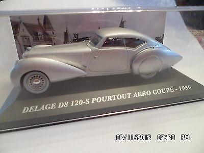 Delage D8 120 S Pourtout Aero Coupe 1938 Ixo Presse 1//43