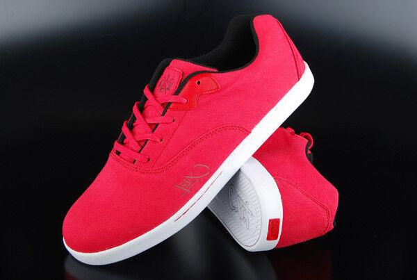 K1x baskets Cali rouge blanc noir