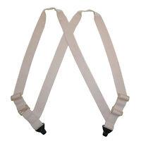 Ctm Men's Undergarment Tsa Compliant Side Clip Airport Suspenders on Sale