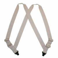 Ctm Men's Undergarment Tsa Compliant Side Clip Airport Suspenders on Sale