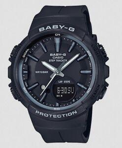 Casio BabyG * BGS100SC-1A Runner Anadigi Step Tracker Basic Black COD PayPal