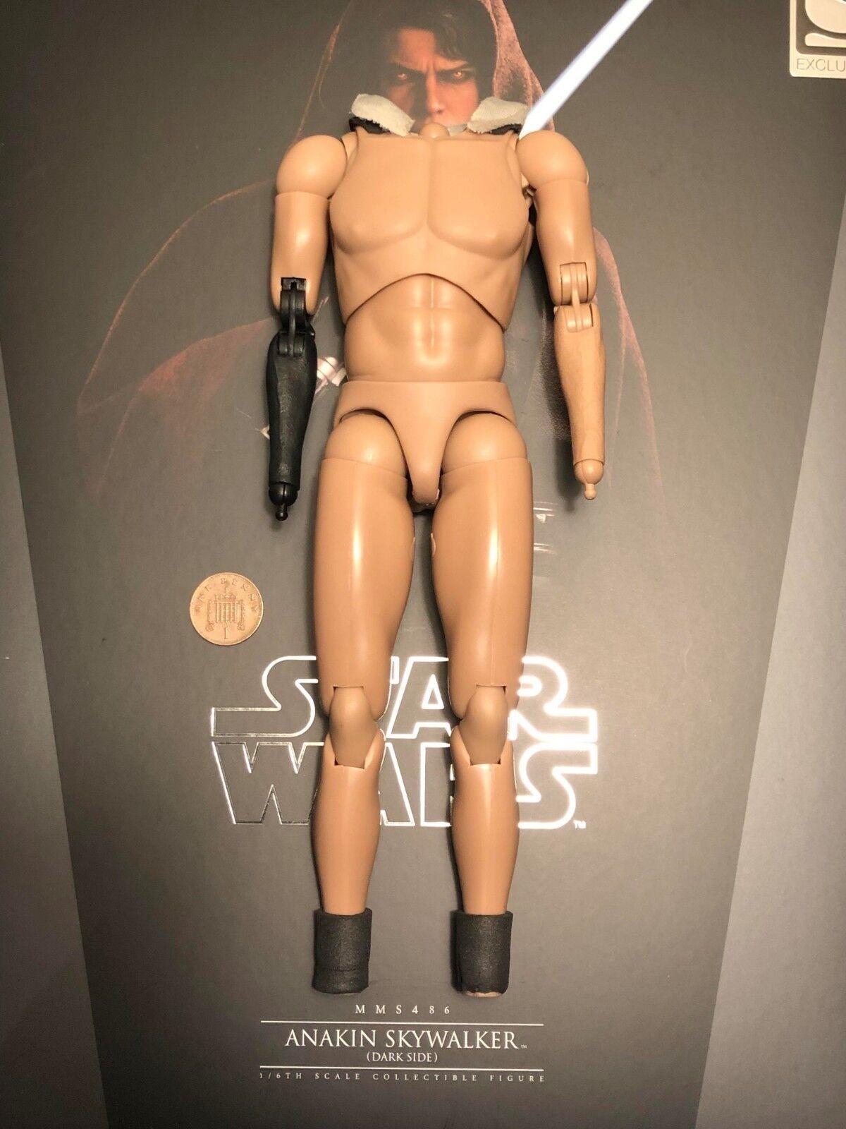 Hot Toys Star Wars Anakin Skywalker Dark Side Nude Body loose 1 6th scale
