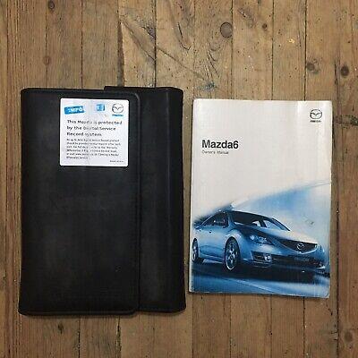 02-07 Proprietari Di Mazda 6 Manuale Manual Pack E Portafoglio 07 Stampa.-
