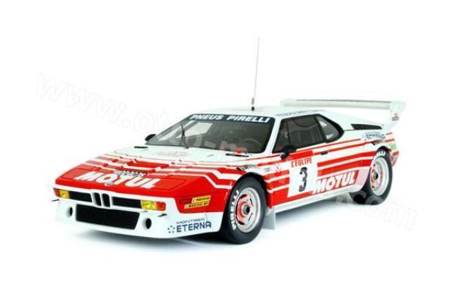 Otto Mobile 126 BMW M1 Résine Modèle Rallye Voiture Groupe B Tour de Corse 1983 1 18th