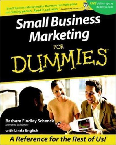 Marketing Your Small Business For Dummies Cheat Sheet
