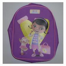 Disney 491682U Doc McStuffins Zipped Closure Purple Back Pack Kids Fashion - New