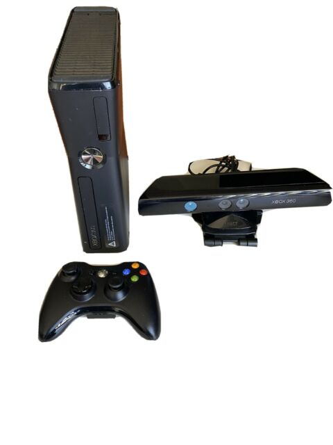 Microsoft Xbox 360 Kinect Holiday Bundle 250GB Black ...