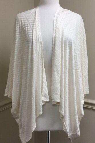 Women/'s Bat Wing Chevron Open Front Draped Loose Fit Cardigan Wrap One Size