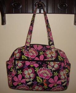 Image is loading Vera-Bradley-Pirouette-Pink-Diaper-Baby-Bag-Changing- b1ce19261a2a4