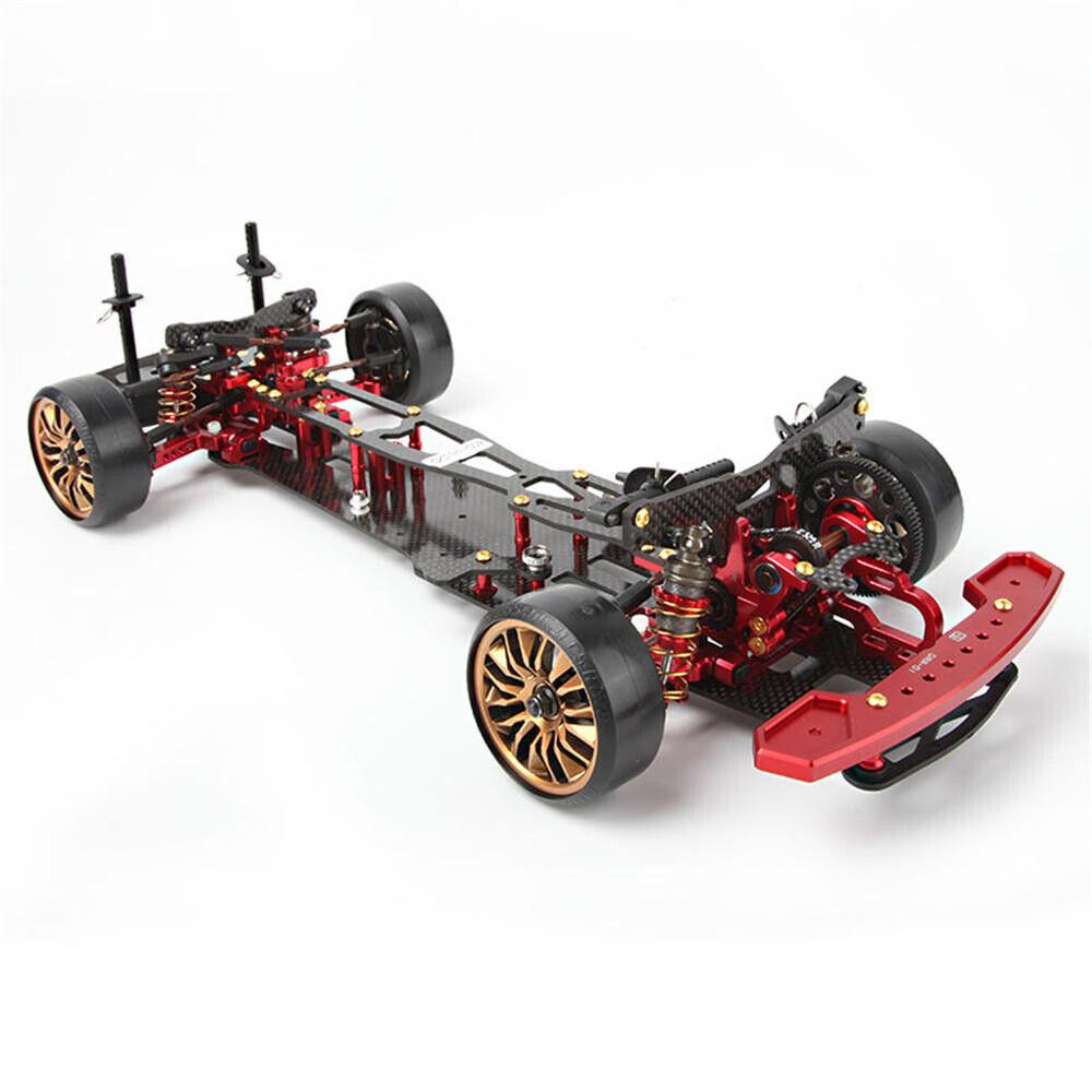 D1 Grand Prix DRR-01 1 10 CNC Metal T700 Kolfiber 423190mm Bakre enhet