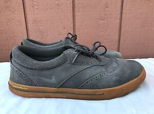 wholesale dealer 8c199 6ce68 Image is loading Nike-Lunar-Swingtip-Suede-SD-Mens-Golf-Shoes-