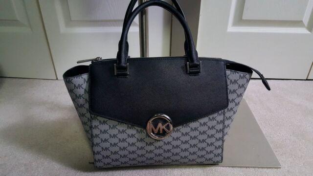 6521f47be013 Michael Kors Hudson Satchel Large Shoulder Bag 100 Authentic for ...