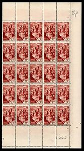 1/2 Feuille CONQUES 15f, Neufs ** = Cote 125 € / Lot Timbres France n°792