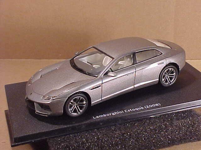 Hachette Lamborghini Colección  HLC09 1 43 2008 Estoque Sedan, Sedan, Sedan, Gris Metálico  ventas en linea
