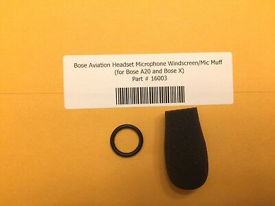 Bose ProFlight Headset Microphone Windscreen Mic Muff