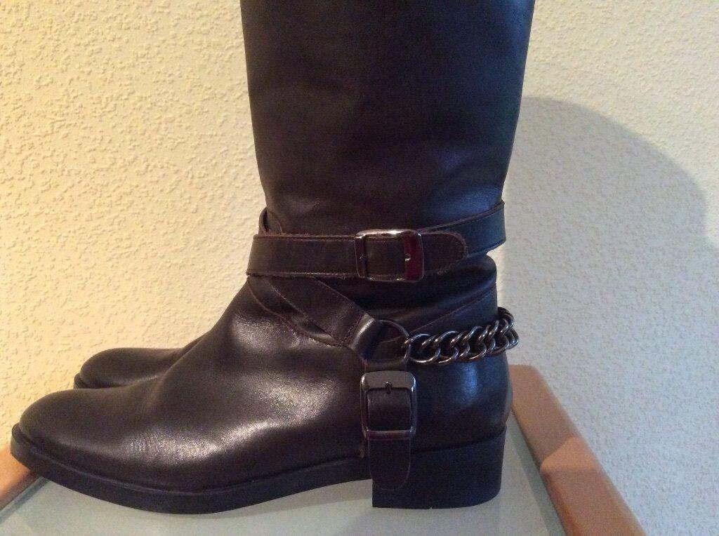 ZARA-Woman Stiefel Gr.38 Top Zustand!