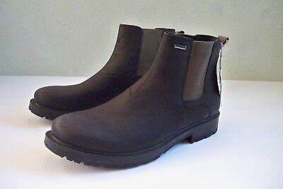 whisky astronauta granero  NEW Men's SZ 45 US 11.5-12 Geox Respira Amphibiox Black Nubuck Ankle Boots  | eBay