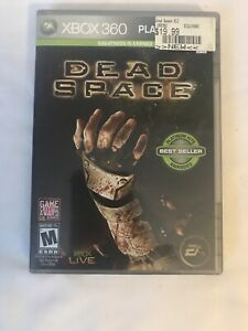Xbox 360 Dead Space Game 2009 Platinum Hits With Manual
