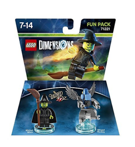 Toys-Lego-Dimensions-Fun-Pack-Wizard-of-Oz-Wicked-Witch-of-the-West-GAME-NEW