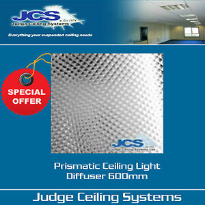 Prismatic diffuser panel clear 600 x 600mm suspended ceilings box image is loading prismatic diffuser panel clear 600 x 600mm suspended aloadofball Choice Image