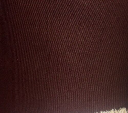 10 Mts Chocolate Brown Polyester Twill Dressmaking Dress Uniform Suit Fabric
