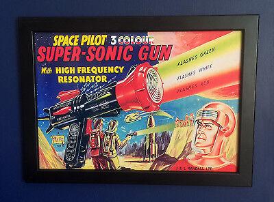 Toys & Hobbies The Cheapest Price Dan Dare 1950's Super-sonic Waffe Gerahmt A4 Größe Poster Kunstwerk Zeichen
