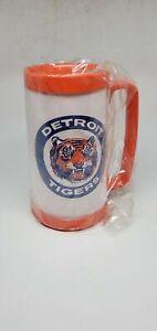 Vintage-1980s-Detroit-Tigers-Baseball-Plastic-Beer-Mug-Budweiser-This-Buds-for-Y