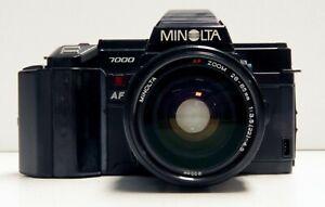 Minolta-MAXXUM-7000-35mm-Film-SLR-with-28-85mm-f-3-5-4-5-Lens-and-Flash