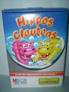 HIPPOS-GLOUTONS-JEU-LES-BONS-VOYAGES-NEUF