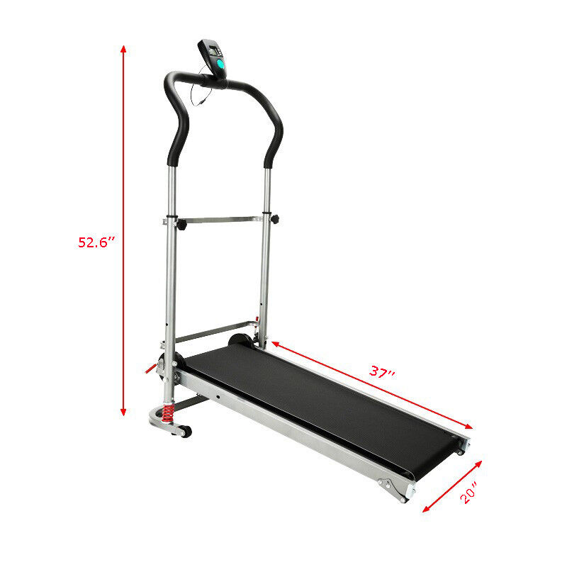 Portable Treadmill Folding  Fitness Home Exercise Family Use  authentic online