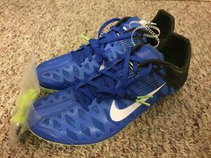 296591186ba3 Size 12 Nike Zoom Maxcat 4 Sprint Track Field Spikes Cobalt Blue ...