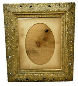 Gold-Gilt-Large-Ornate-Wood-Frame-Victorian-25-25-034-H-x-22-25-034-W-Fine-Art-Antique