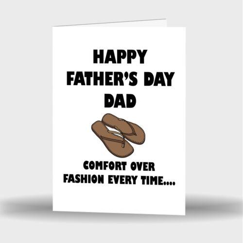 Nouveau Père/'s Jour Best Papa Mignon Drôle humeurs Blague Laugh cartes de vœux 5