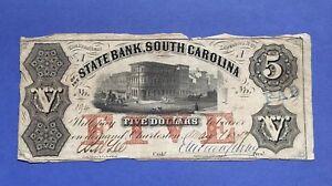 1857-5-STATE-BANK-OF-SOUTH-CAROLINA-KELLY-SC175-25