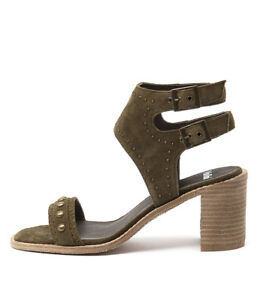 Image is loading New-Mollini-Deedee-Khaki-Womens-Shoes-Casual-Sandals-