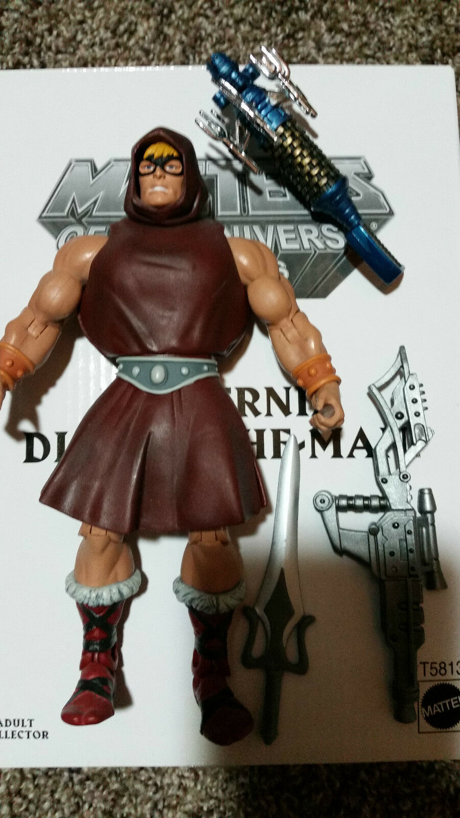 Masters of the Universe Classics Preternia Disguise He-Man Figure