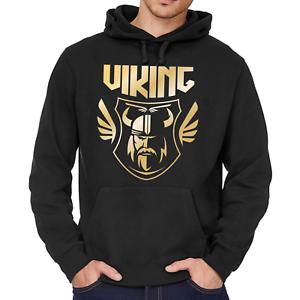 Viking-Wikinger-Valhalla-Odin-Thor-Nordisch-Kapuzenpullover-Hoodie-Sweatshirt