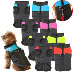 Puppy-Pet-Dog-Winter-Warm-Soft-Padded-Thick-Coat-Clothes-Vest-Jacket-Waterproofs