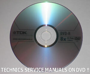 Technics Su V6x Amplifier Service Manual Service Manuals
