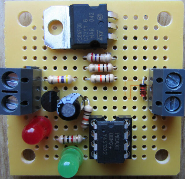 12V MINI LOW VOLTAGE DISCONNECT (LVD). PROTECT BATTERIES FROM LOW CHARGE DAMAGE