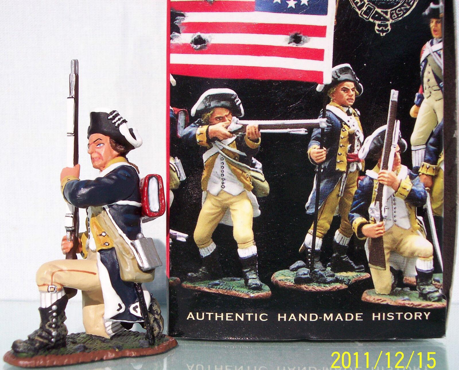 King & Country Revolución Estadounidense Ar042 1st Nueva York Regt. de Rodilla